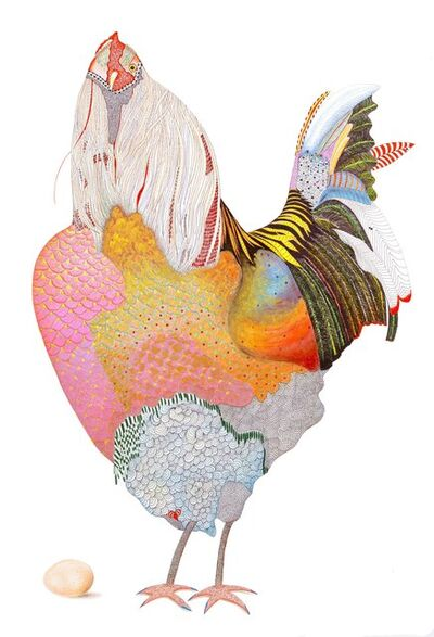 Marian Fannon Christian, 'B'ino Bird – Print', 2003