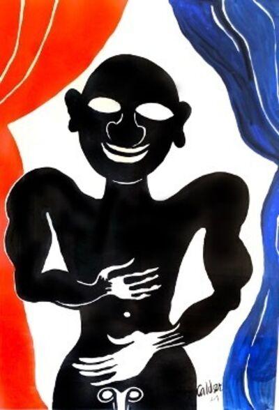Alexander Calder, 'Black Performer', 1974