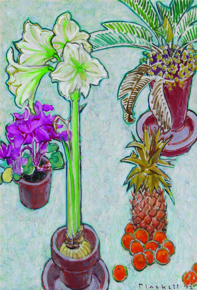 Joseph Plaskett, 'Still Life with Amaryllis'