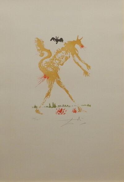 Salvador Dalí, '8 Mortal Sins Pride', 1966