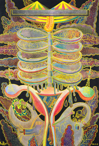 Fi Lee, 'The Inside of the Angel', 2016