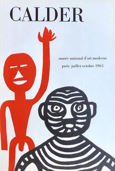 Alexander Calder, 'Alexander Calder Paris exhibition poster 1965', 1965