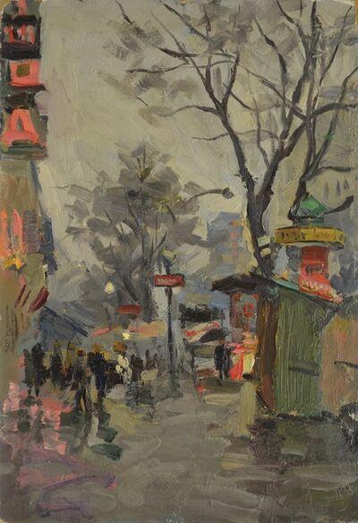Nikolay Pavlovich Khristolyubov, 'A grey day in Paris', 1961