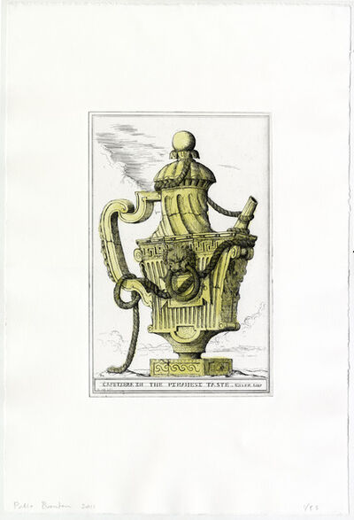Pablo Bronstein, 'Cafetiere in the Piranesi Taste', 2011