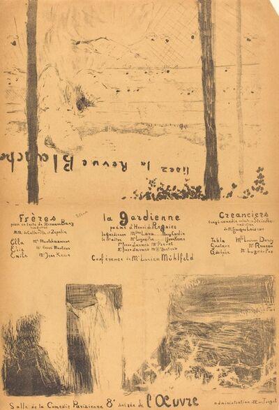 Édouard Vuillard, 'Frères; La Gardienne; Créanciers', 1894