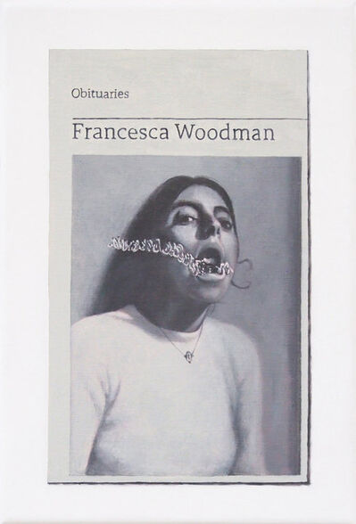 Hugh Mendes, 'Obituary: Francesca Woodman ', 2019