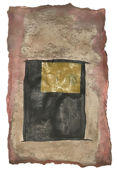 Daria Sandburg, 'Night Box Coda (gold window 1)', 2020