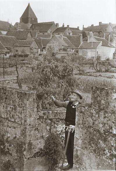 Henri Cartier-Bresson, 'Indre-et-Loire. Villandry, France', 1953/1960c