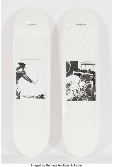 Raymond Pettibon, 'Bang and Blood (set of two works)', 2014