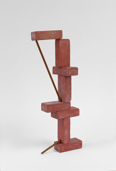 Matt Johnson, '8 brick tower with 2 bars', 2019