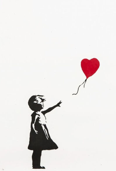 Banksy, 'Girl With the Balloon -Unsigned', 2004