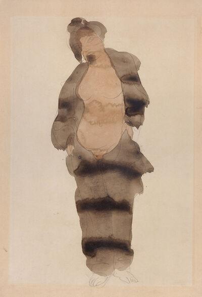 Auguste Rodin, 'Naked Woman in a Fur Coat ('Femme Pyjama')', 1898-1901