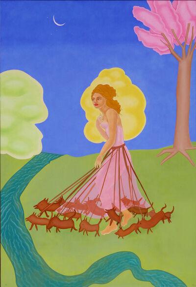 Elizabeth Fox, 'Dog Dress of Summer', 2020