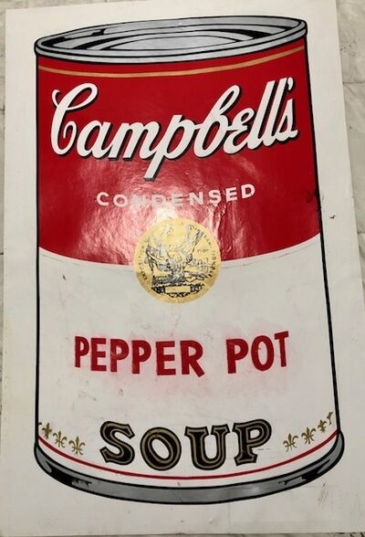 Andy Warhol, 'The pepper pot soup', 1968