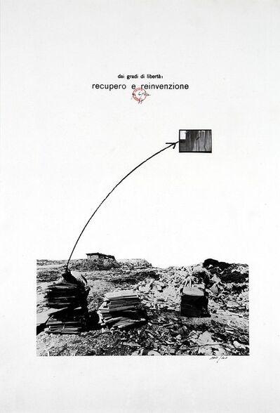 Ugo La Pietra, 'Dai gradi di libertà, recupero e reinvenzione', 1975