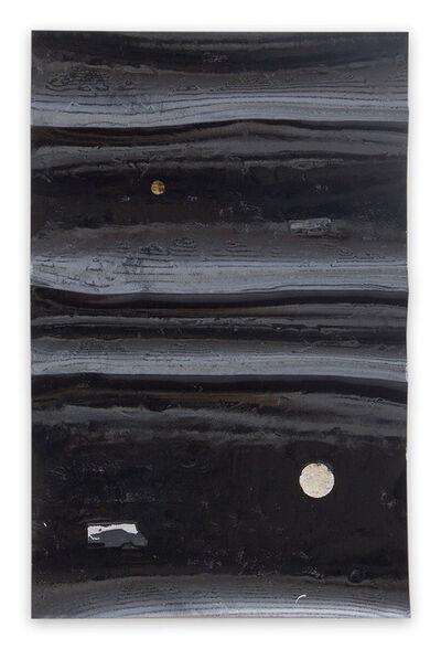 Harald Kröner, 'Black River 26 (Abstract work on paper)', 2018