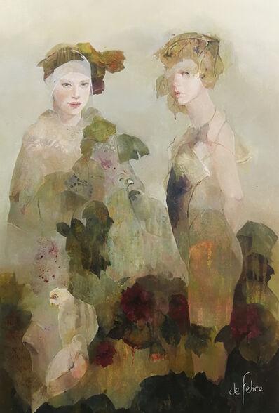 Françoise de Felice, 'Le jardin aux oiseaux', 2019