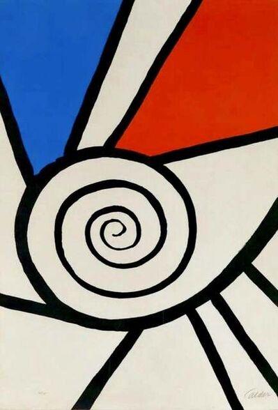 Alexander Calder, 'Spirale rouge et Bleu', 1969