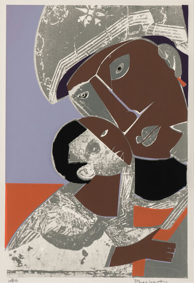 Romare Bearden, 'Mother and Child', 1974