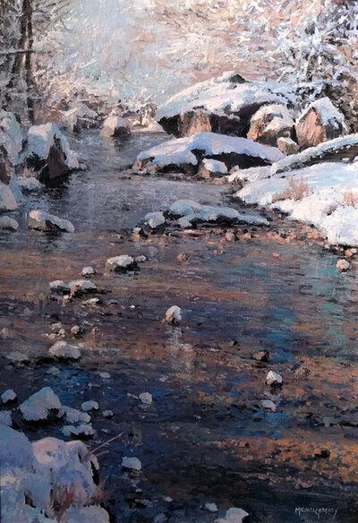 Michael Godfrey, 'Snow at Sligo Creek'