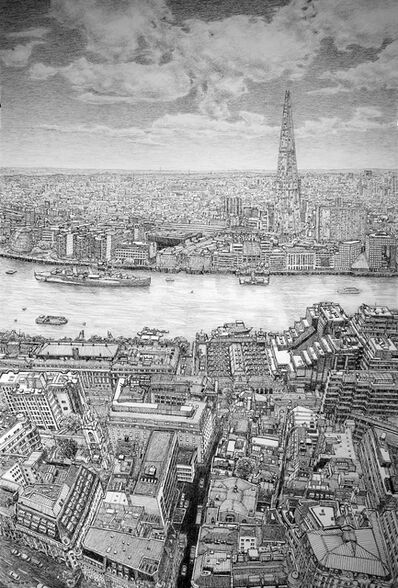 Roy Wright, 'The Shard & Thames From The Sky Garden', 2016