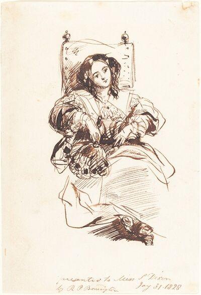 Richard Parkes Bonington, 'Sketch of a Woman', 1828