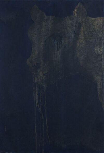 Franco Angeli, 'Head of Capitoline She-Wolf (Testa di lupa capitolina) ', 1965