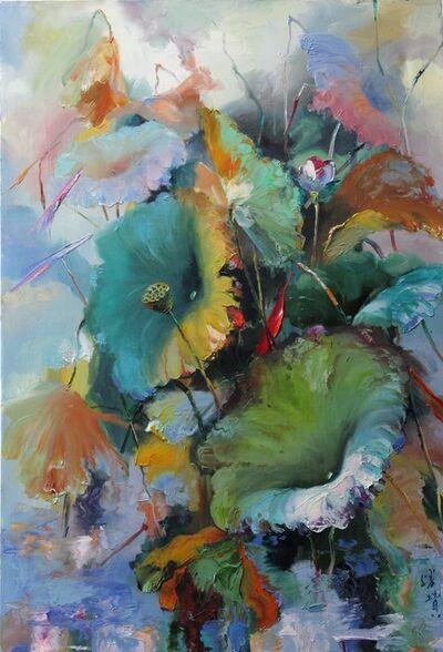 Zhang Shengzan 张胜赞, 'Lotus'