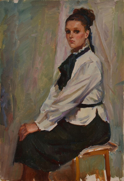 Shorokhov Anatoly, 'A girl named Marina', 1989