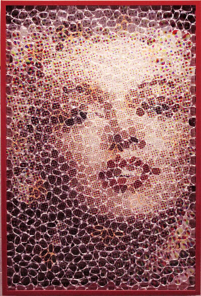 David Datuna, 'Eye to Eye: Marilyn', 2014