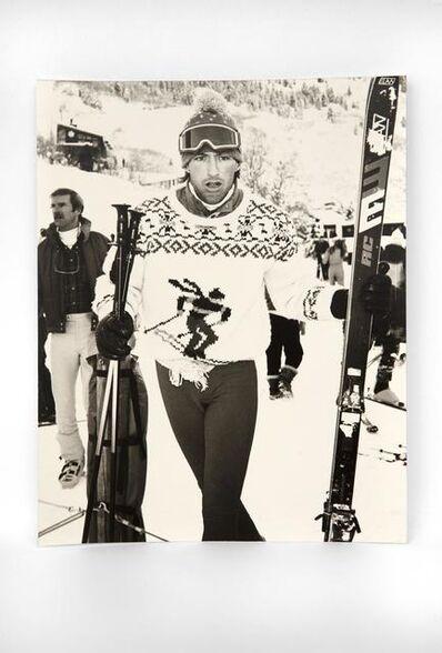 Andy Warhol, 'Jon Gould in Aspen', 1984