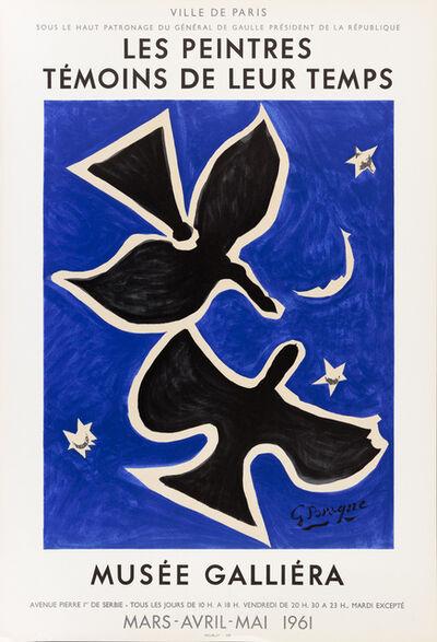 Georges Braque, 'Les Peintres Témoins de leur Temps', 1961