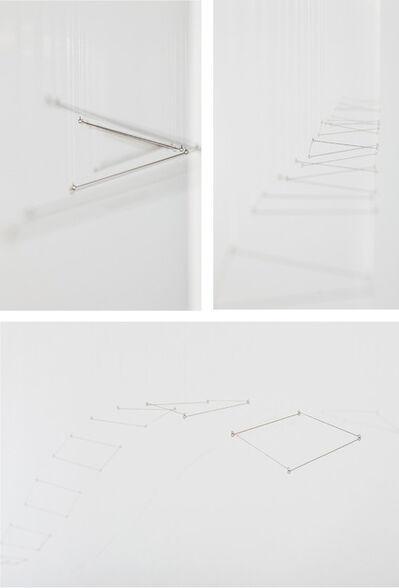 Elias Crespin, '12 Planos en linea (Tapiz Doble 10)', 2014