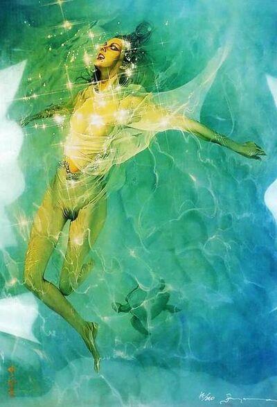 Hajime Sorayama, 'Swimming Nude', 2000's