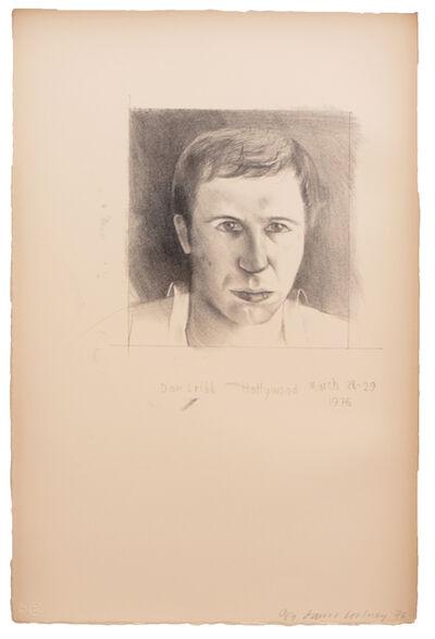 David Hockney, 'Don Cribb', 1976