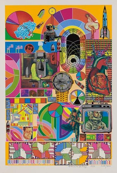 Eduardo Paolozzi, 'BASH (yellow)', 1971