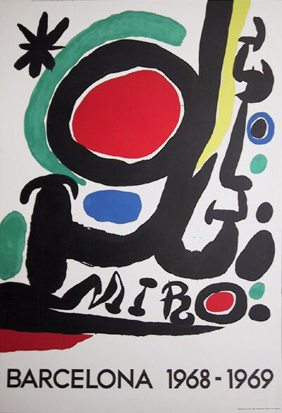 Joan Miró, 'Barcelona', 1968