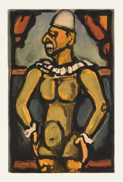 Georges Rouault, 'Tristes Os', 1934
