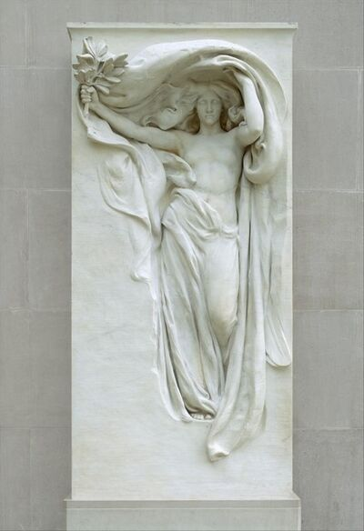 Daniel Chester French, 'Mourning Victory from the Melvin Memorial', 1906–1915