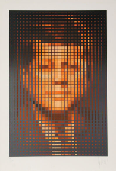 Jean-Pierre Vasarely, 'John F. Kennedy', ca. 1979