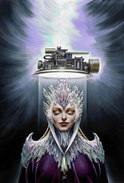 Stephen Hickman, 'Ice Crown'