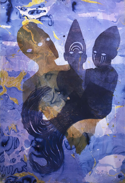 Loren Abbate, 'Purple Oxytocin Bath', 2018