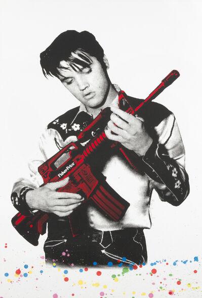Mr. Brainwash, 'Don'T Be Cruel (Elvis)', 2008