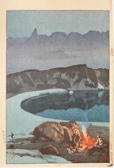 Yoshida Hiroshi, 'Camping at Washiba', 1926