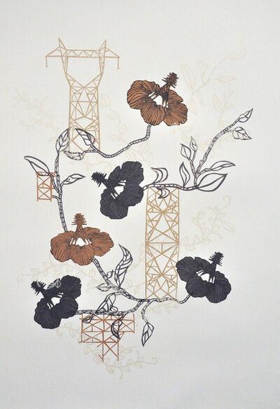 Susan Graham, 'Industrial Florals 2', 2013