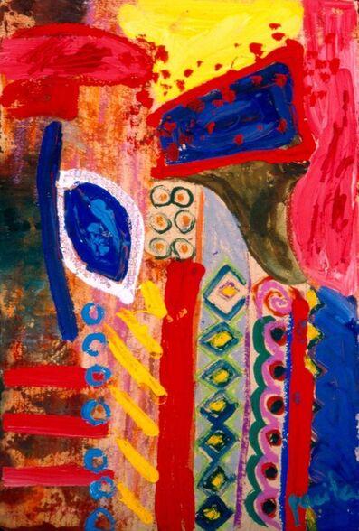 Pacita Abad, 'She kept watching the door', 1997