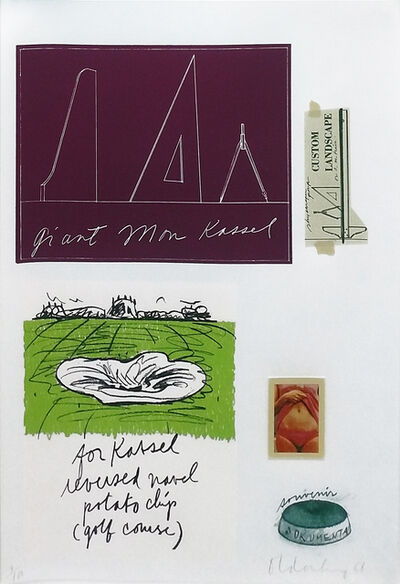 Claes Oldenburg, 'NOTES (KASSEL)', 1968