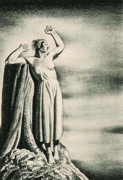 Rockwell Kent, 'Farewell', 1931