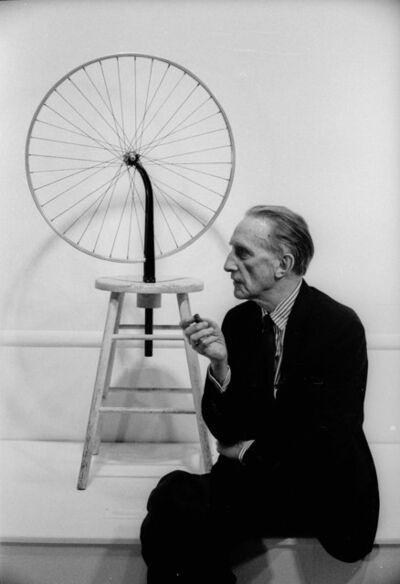 Julian Wasser, 'Marcel Duchamp, Duchamp Retrospective, Pasadena Art Museum, 1963', 2015