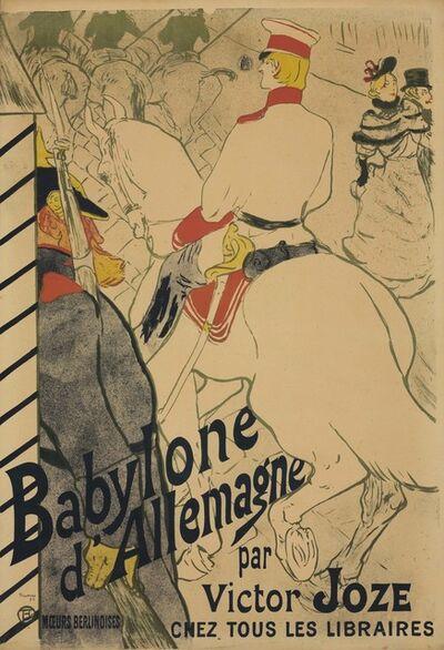 Henri de Toulouse-Lautrec, 'Babylone d'Allemagne', 1894